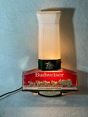 $ CDN125.33 • Buy Rare Vtg Anheuser Busch Electric Sign With Clydesdale Team 1983