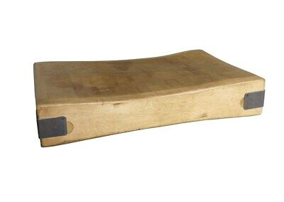 £1485 • Buy Old Original Maple Kitchen Butchers Chopping Block - Functional And Decorative