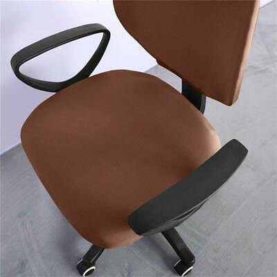 AU6.99 • Buy Decoration Computer Chair Covers Office Chair Parctical Universal Polyester SG