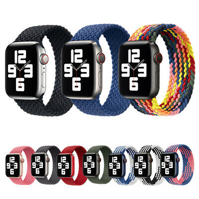 AU11.58 • Buy For Apple Watch Series 6 5 4 3 SE Nylon Braided Band IWatch Strap 38 40 42 44MM