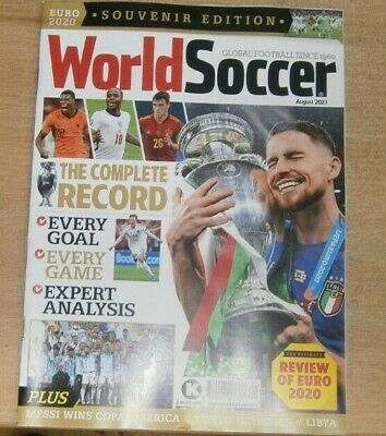 £9.99 • Buy World Soccer Aug 2021 Review Of Euro 2020 Souvenir Edition The Complete Record
