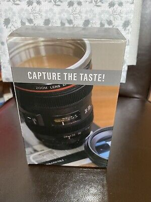 £2.50 • Buy Camera Lens Insulated Mug. Great Gift For Photography Lover.