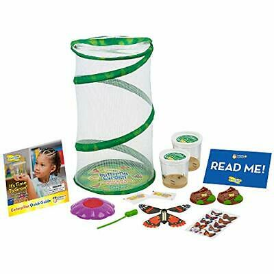 £43.60 • Buy Insect Lore Mini Butterfly Garden Gift Set Two Live Cups Of Caterpillars – Li...