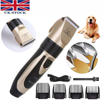 £8.98 • Buy Electric Pet Cat/Dog Grooming Clippers Hair Trimmer Shaver Kit Cordless Quiet