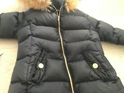 £25 • Buy Lili Gaufrette, Navy, Super Warm Down Coat Used Size 8 Gorgeous And Pretty