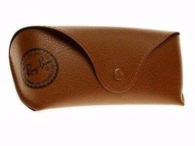 £8.99 • Buy Ray Ban Brown Sunglasses Glasses Case With Free Ray Ban Cleaning Cloth