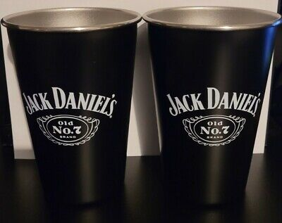 £6.49 • Buy Rare Official Jack Daniels Retro Old No. 7 Stainless Steel Cup Brand New