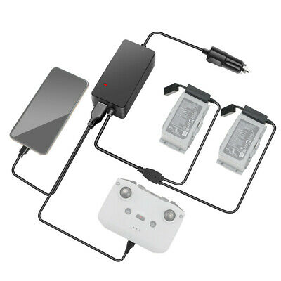 AU37.19 • Buy Car Charger Battery Remote Control USB Charging Dock For DJI Mavic Air 2 Black A