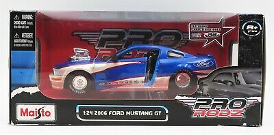 $33.99 • Buy Maisto Toys PRO RODZ 1:24 2006 Ford Mustang GT Car #31356 Die-Cast