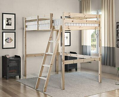 £355.99 • Buy Strictly Beds And Bunks - Celeste High Sleeper Loft Bunk Bed, 4ft 6 Double