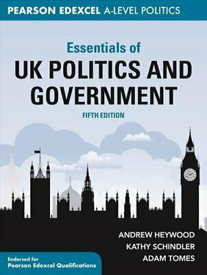 £25.75 • Buy Essentials Of UK Politics And Government By Andrew Heywood 9781352012309