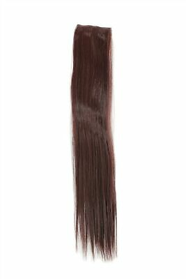 $2.96 • Buy 2 Clips Strand Smooth Dark Mahogany Brown YZF-P2S18-33 17 11/16in Hair