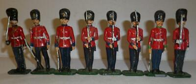 £4.99 • Buy EIGHT 'SOLDIERS SOLDIERS' WHITE METAL ASSORTED GUARDS AND FUSILIERS - 54mm