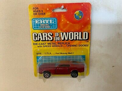 $15 • Buy Ertl 1/64 Cars Of The World Ford Mustang Mach 1