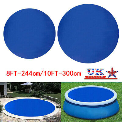 £10.99 • Buy Solar Pool Cover Sheet For Fast Set Inflatable 8ft 10ft Paddling Swimming Pool#q