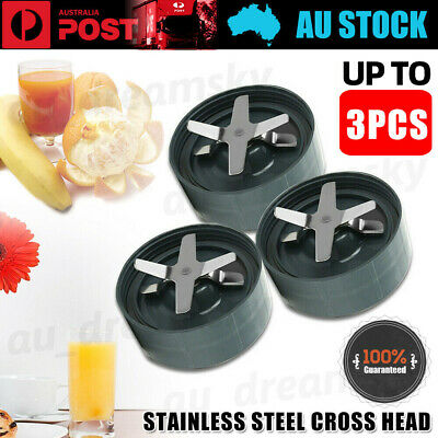 AU13.50 • Buy 3X Cross Extractor Blade For Nutribullet &Nutri Bullet 600 900W Replacement