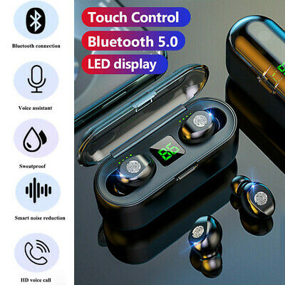 $ CDN16.10 • Buy Bluetooth 5.0 Wireless Earbuds For Iphone Samsung Android TWS IPX7 Waterproof