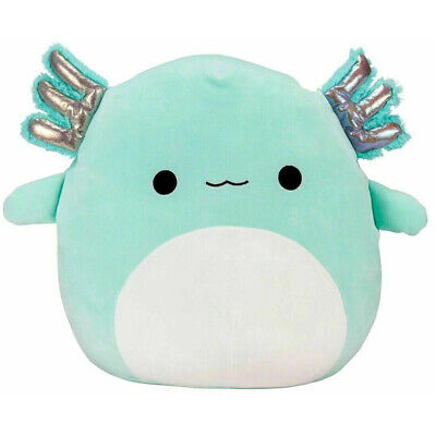 £8.33 • Buy For Squishmallows Plush Stuffed Toy Game Walking Fish Teal Green Salamander Doll