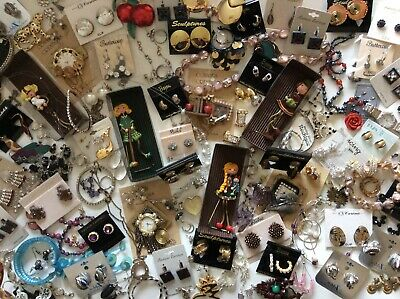 $ CDN49.99 • Buy Lot Of 137 (4pounds) Very Unique Wearable Jewelry Mixed Lot. Many Items New.