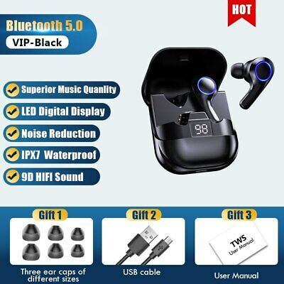$ CDN36.48 • Buy Bluetooth Earbuds For Iphone Samsung Android Wireless Earphone  IPX7 WaterProof