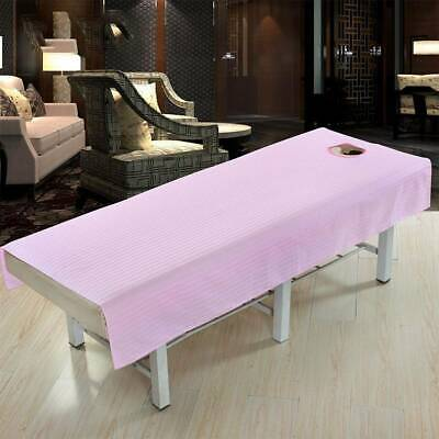 £7.49 • Buy Beauty Salon Massage Bed Table Soft Cover Spa Couch Sheet With Hole 190*80cm #QX