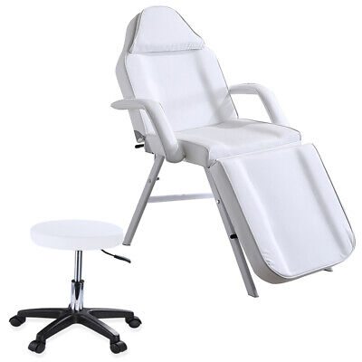 £85 • Buy Adjust Massage Couch Bed Chair & Stool Beauty Salon Table Tattoo Facial Therapy