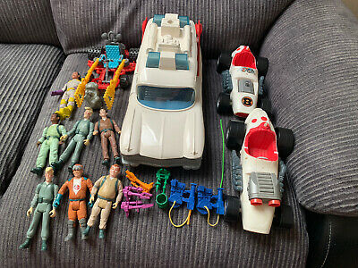 £16 • Buy The Real Ghostbusters 1980's Joblot Bundle Ecto 1, Figures & More