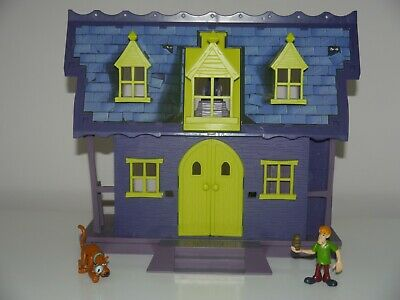 £34.99 • Buy Scooby Doo Haunted Mansion Playset With Cannon & Missile And 2 Figures _ 1