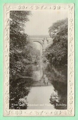 £3.25 • Buy [23038] Cheshire R/P Postcard River Goyt Aqueduct And Viaduct Romiley