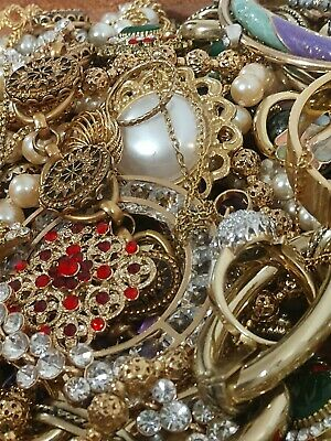 $ CDN70.50 • Buy Vintage To Now Jewelry Lot Unsearched Untested No Junk Estate 1-2lbs FULL #238