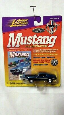 $4.44 • Buy 1969 FORD MUSTANG MACH 1 Rubber Tires ~Mustang Illustrated~1999 Johnny Lightning