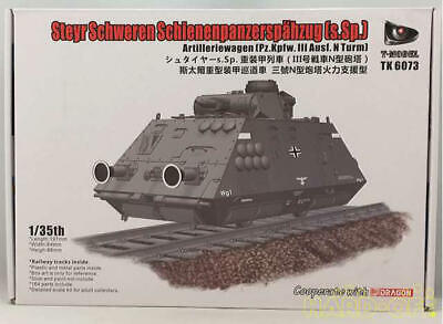 $115.99 • Buy Model T-Model Steyr S.Sp. Heavy Armored Train Panzer Iii N-Type Turret 360Mm