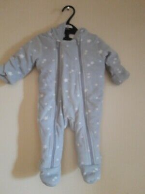 £1.10 • Buy Marks And Spencer Snowsuit Age 0-3 Months