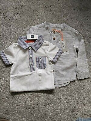 £7.75 • Buy Baby Boy 3-6 Months Shirt GAP/River Island New With Tags