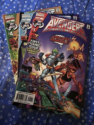 £5.30 • Buy Avengers - United They Stand #1, 3-4 Marvel Comics 1999 - VF