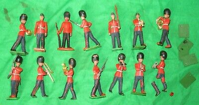 £1.99 • Buy Britains Herald Lot 12 Scots Guards & Band Soldier Figures 1/32nd 54mm Plastic