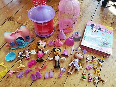 £1.04 • Buy Disney Minnie Mouse Dress Up Figures Bundle Set Toy Doll My Busy Book Playset