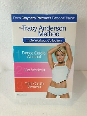 £5.99 • Buy THE TRACY ANDERSON METHOD Triple Workout Collection DVD