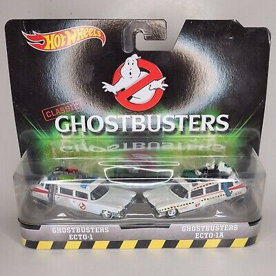 £11.60 • Buy HOT WHEELS 2015 Classic Ghostbusters 2 PACK ECTO-1 & ECTO-1A Mattel NEW SEALED