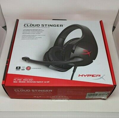 AU65 • Buy HyperX Cloud Stinger Over-Ear Wired Gaming Headset Black PS4/PC/XBOX