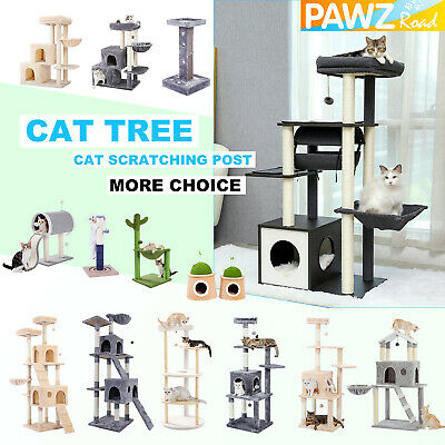 AU22.97 • Buy Cat Tree Scratching Post Scratcher Tower Condo House Furniture Bed Stand Wooden