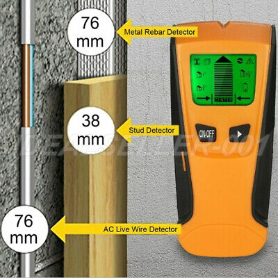 £9.89 • Buy UK 3in1 LCD Stud Wood Wall Center Finder Scanner Metal AC Live Wire Detector