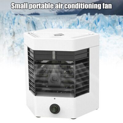 AU36.99 • Buy Portable Air Conditioner Desk Fan Fast Cooling Air Cooler Mute USB Rechargeable