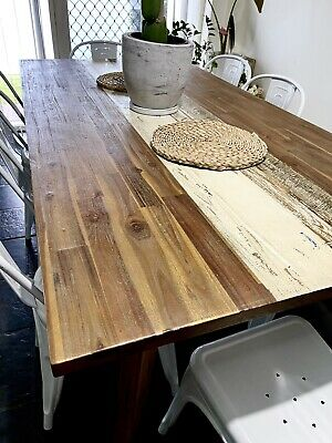 AU750 • Buy Boatwood Dining Table    8 Chairs
