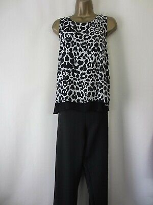 AU1.85 • Buy Summer Evening Party Catsuit By Wallis - Size 16 - Ex Cond