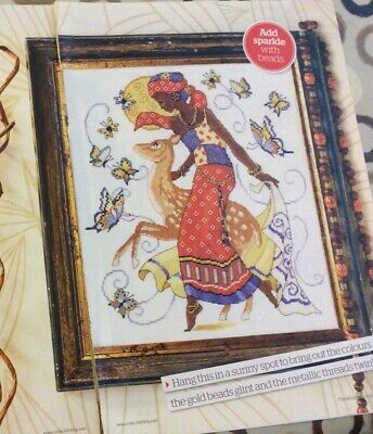 £0.99 • Buy Lesley Teares African Lady Design Cross Stitch Chart Only / 3226