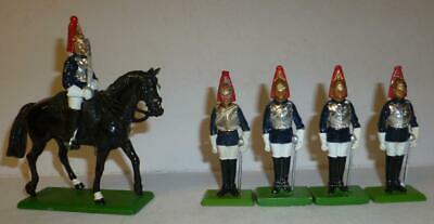 £4.99 • Buy Britains New Metal Soldier Models Of Mounted & Foot Horse Guards