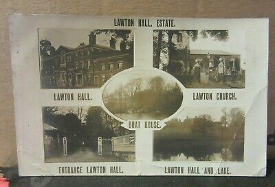 £2.50 • Buy Multiview, LAWTON HALL ESTATE, CHESHIRE Used Antique Postcard  1911 Pm