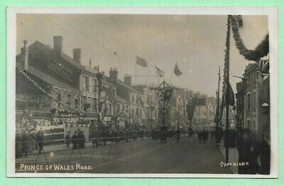 £14.95 • Buy [15714] Norfolk R/P Postcard Prince Of Wales Road  Decorated For Royal Visit