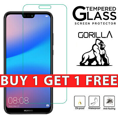 £2.99 • Buy Tempered Glass Film Screen Protector For Huawei P40 Lite P20 P10 Plus P9 P8Lite
